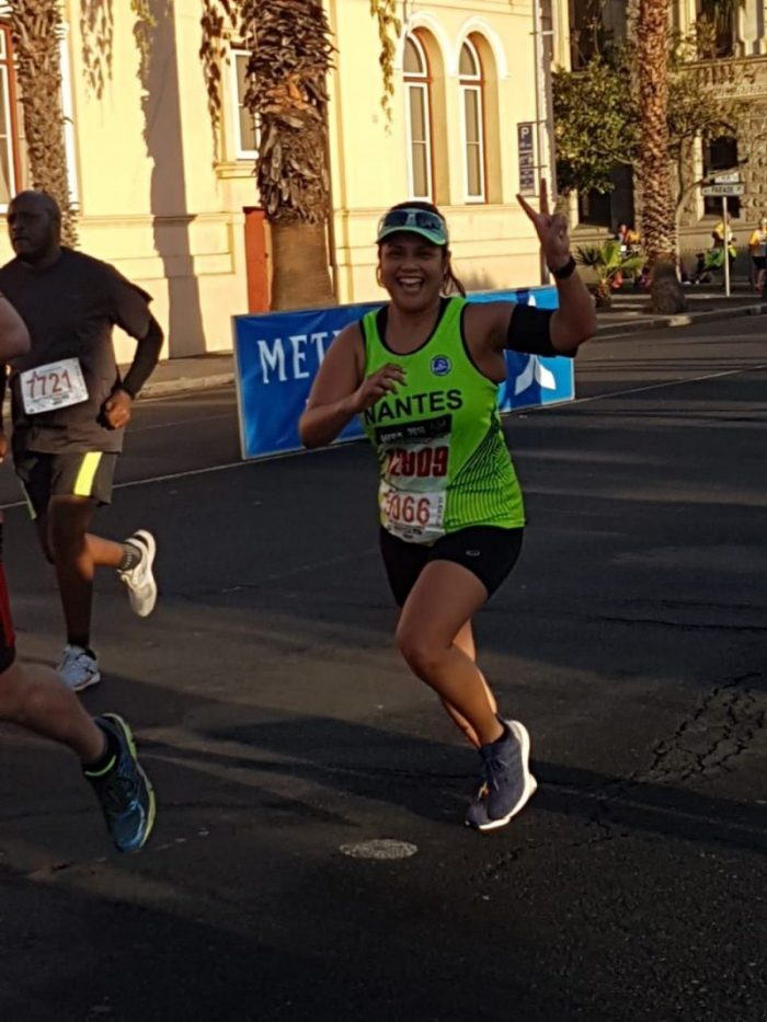 Interview: Fellow runner and club member Leila Abrahams